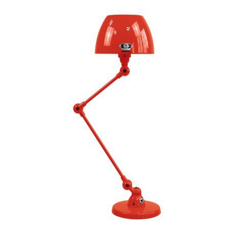 AICLER - lampe de table - rouge et jaune