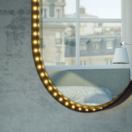 VANITY OVAL - Miroir applique