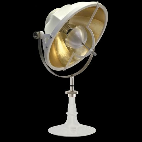 Fortuny - Armilla 41 - Lampe de table - Pied blanc