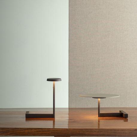 FLAT - lampe de table - plateau