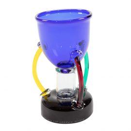 DENEB - vase in multicolored blown glass