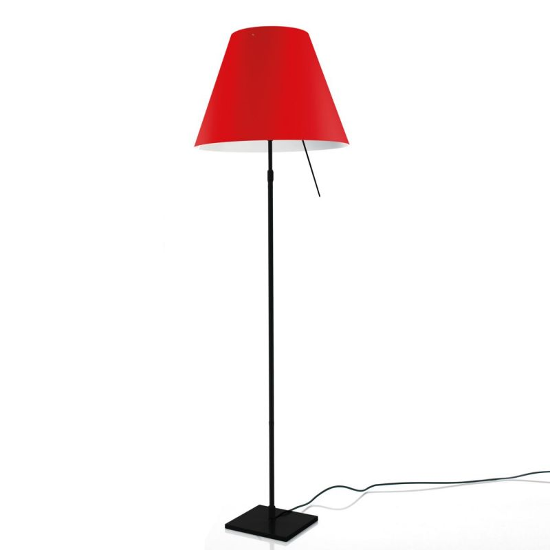 costanza lampadaire pied noir espace lumi re. Black Bedroom Furniture Sets. Home Design Ideas